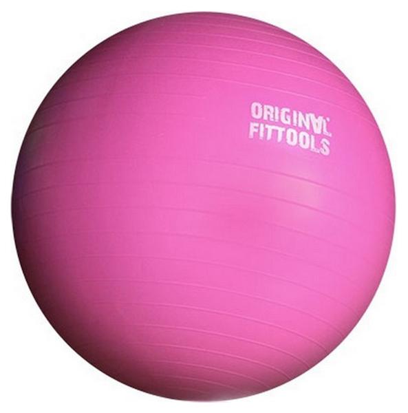 Мяч гимнастический Original Fit.tools Мяч гимнастический, розовый, 55 см фото