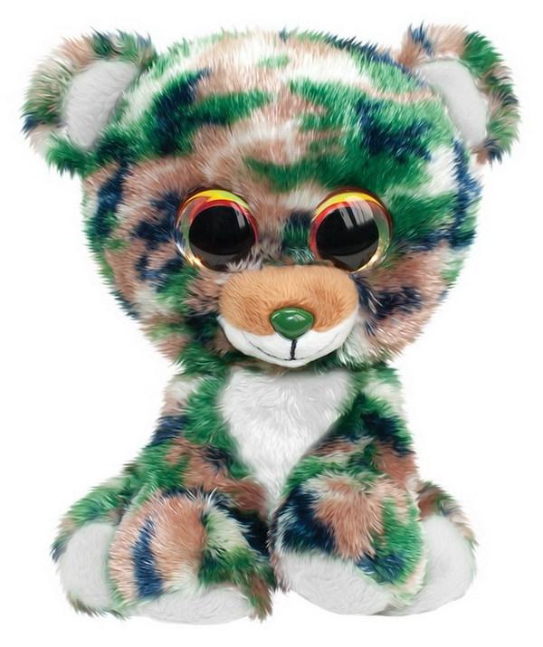 Купить Мягкая игрушка Tactic Мишка Camo, серый, 15 см, Мягкие игрушки животные