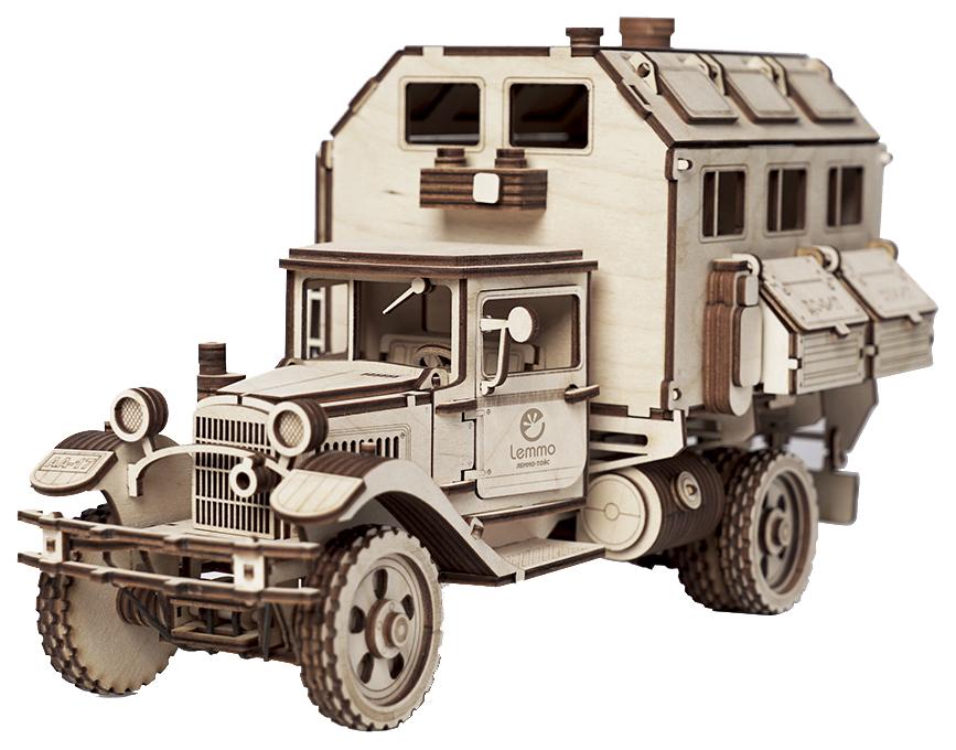 Купить Модели для сборки Lemmo Большой грузовик ГАЗ-АА Кунг