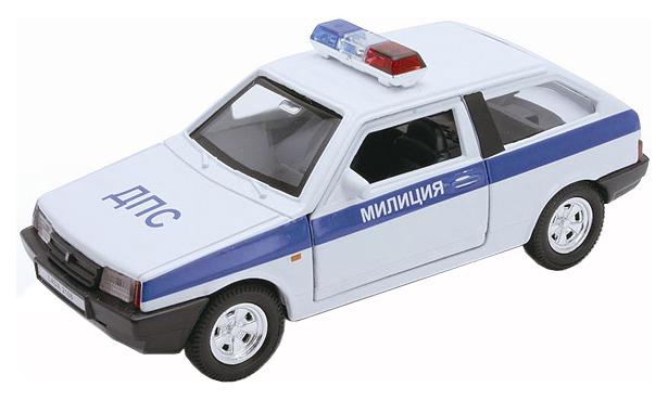 Купить Lada Ваз 2108 милиция ДПС, Машина спецслужбы Welly Lada ВАЗ 2108 Милиция ДПС 1:34,