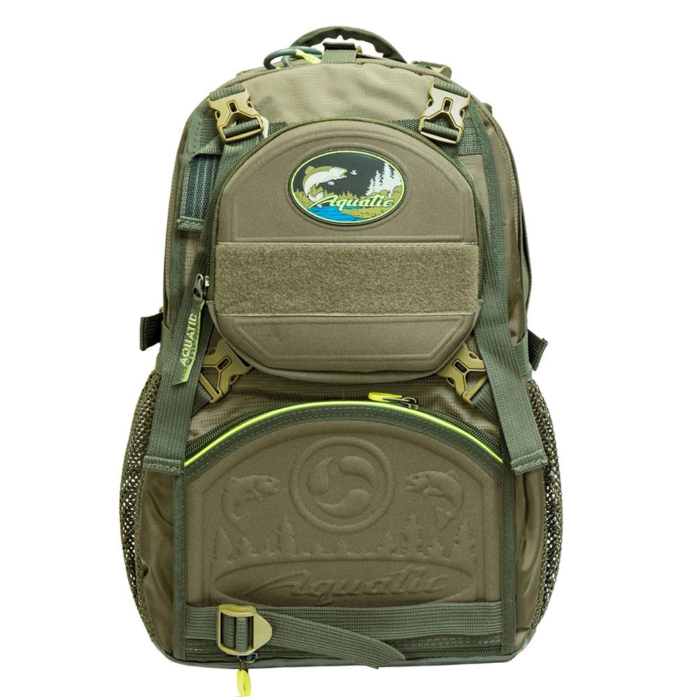 Рюкзак рыболовный Aquatic Р-35Х хаки 35 л фото