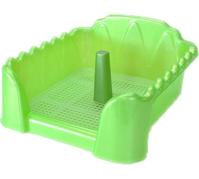 Лоток для собак HOMEPET со столбиком, зеленый перламутр, 50х40 см- обзор, преимущества, отзывы. Заказать товар для животных за 858 руб. Бренд HOMEPET