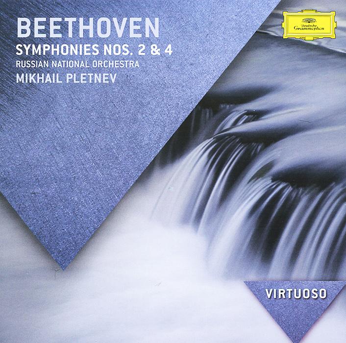 Аудио диск Pletnev, Mikhail Beethoven: Symphonies Nos.2 #and# 4