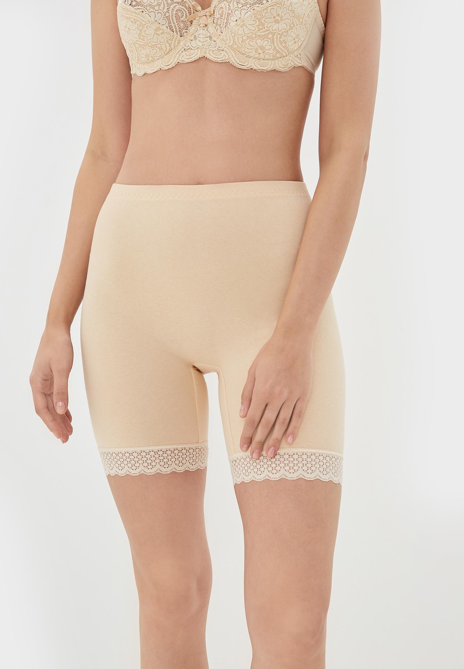 Панталоны женские НОВОЕ ВРЕМЯ T014 бежевые 44 RU
