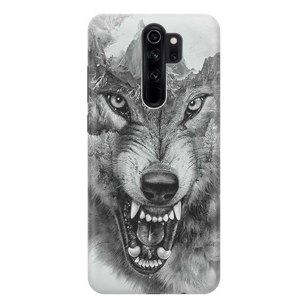 Чехол Gosso Cases для Xiaomi Redmi Note 8 Pro «Волк в горах»