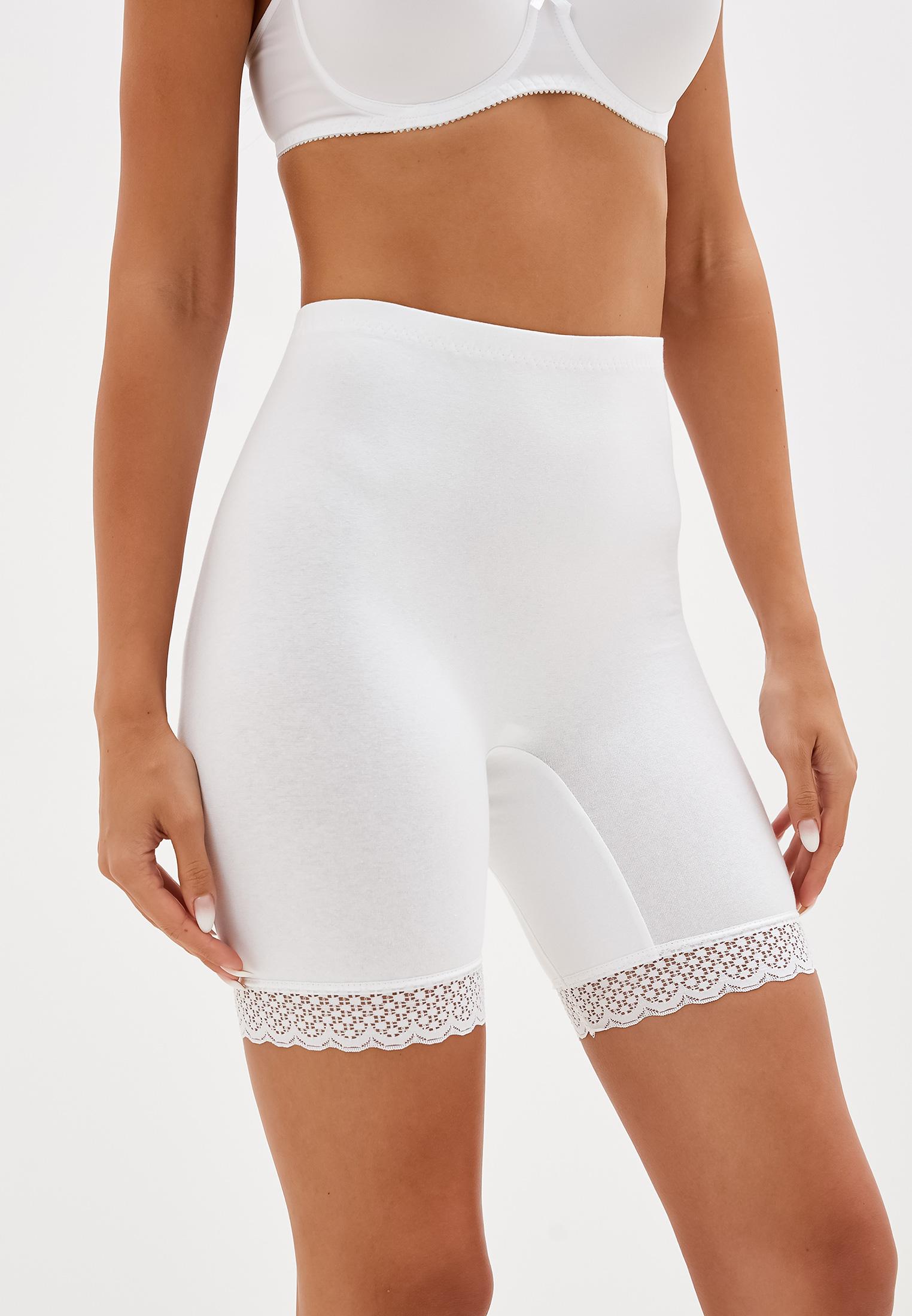 Панталоны женские НОВОЕ ВРЕМЯ T014 белые 62 RU
