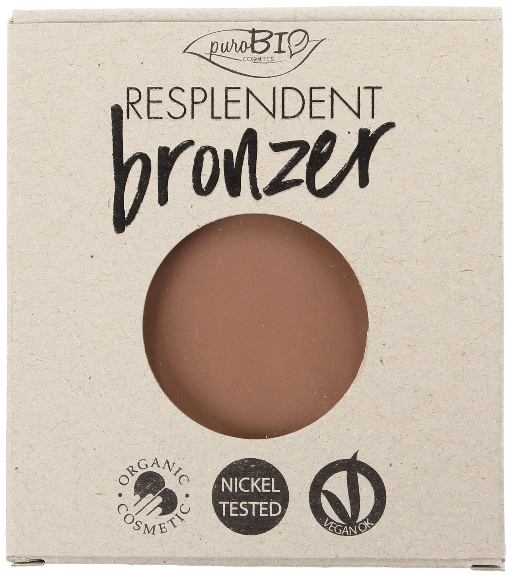 Бронзер PuroBio Resplendent Bronzer 03 бежево коричневый