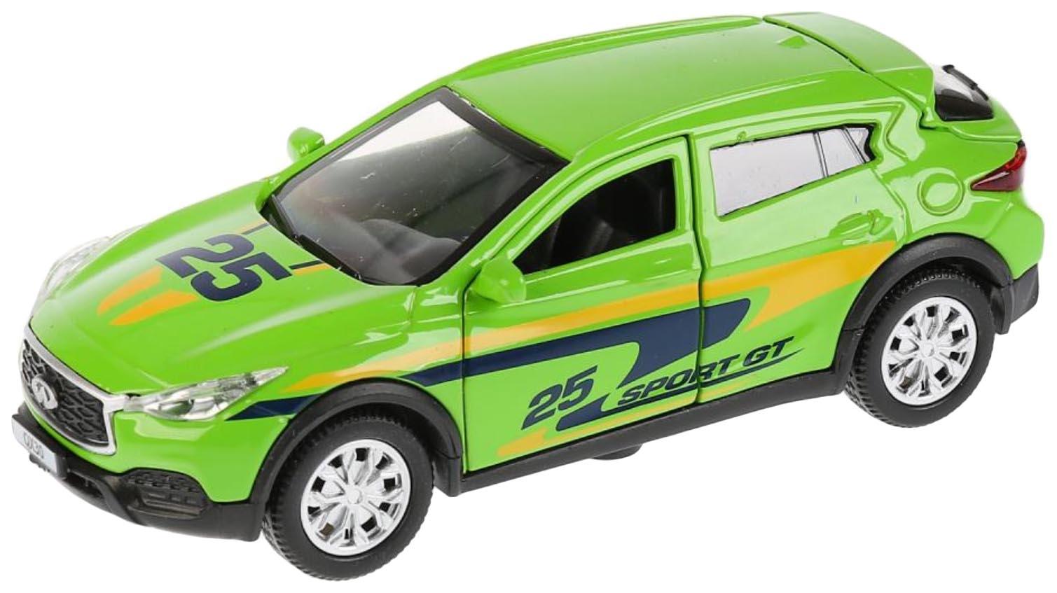 Купить Машина металлическая Infiniti QX30 Спорт, инерционная, 12см Технопарк, Игрушечные машинки