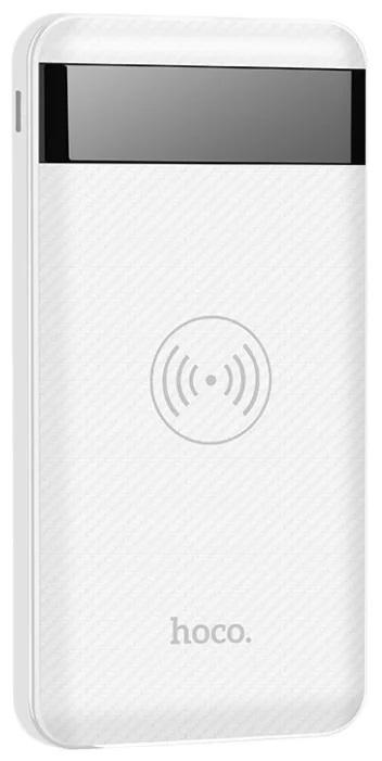Внешний аккумулятор HOCO J11 Astute Wireless Charging Power Bank 10000 mAh
