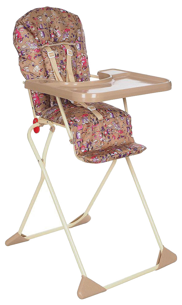 ГЛОБЭКС Стул-стол для кормления КОМПАКТ Бежевый
