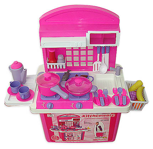 Купить Кухня Kitchenware в ящике (свет, звук) Shenzhen Toys, Детская кухня