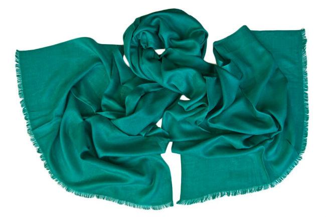 Палантин женский Tranini 0252 зеленый