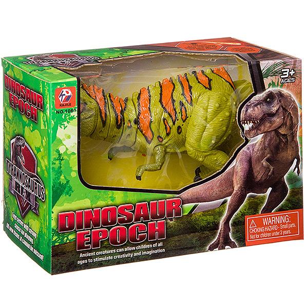 Купить Динозавр на бат. озвуч., ВОХ 26х18х12 см, арт. 1061., Shantou Gepai, Игровые фигурки