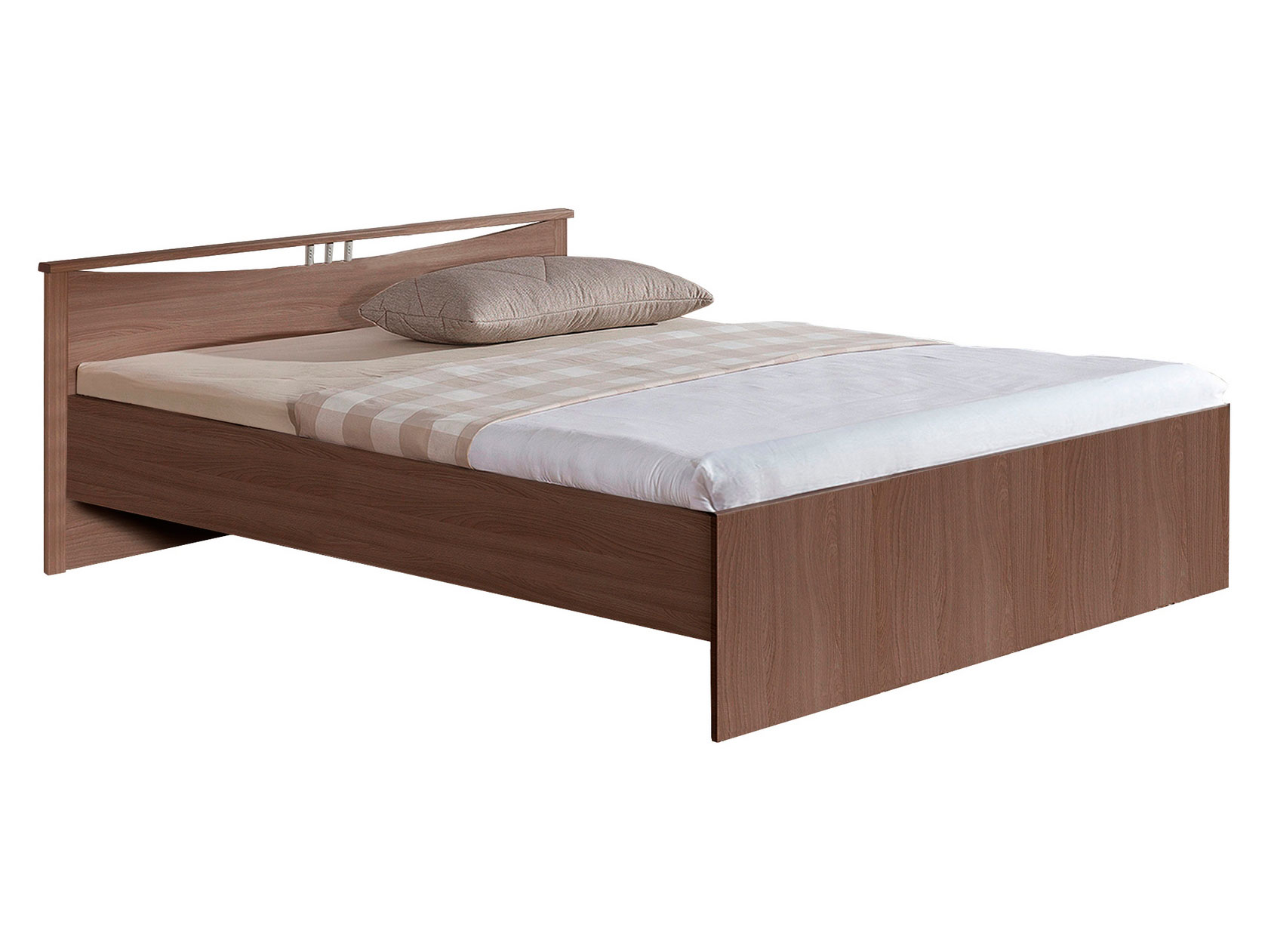 Односпальная кровать Боровичи Кровать Мелисса Шимо темный,