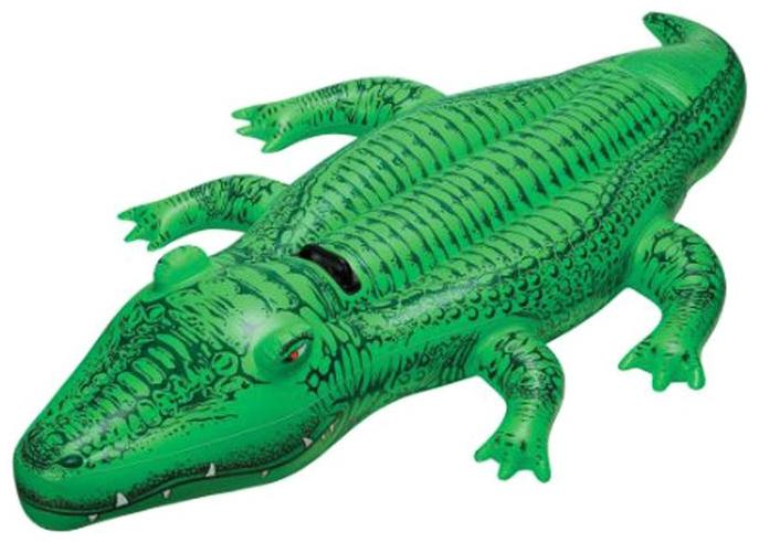 Игрушка надувная INTEX Крокодил 168Х86См От 3Лет