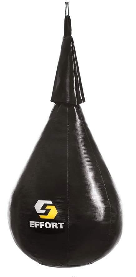 Груша боксерская EFFORT MASTER, на ленте ременной,