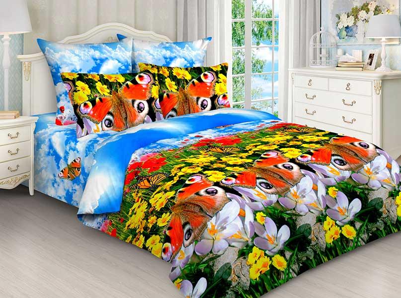Комплект постельного белья Avrora Texdesign Бязь люкс 5203, евро