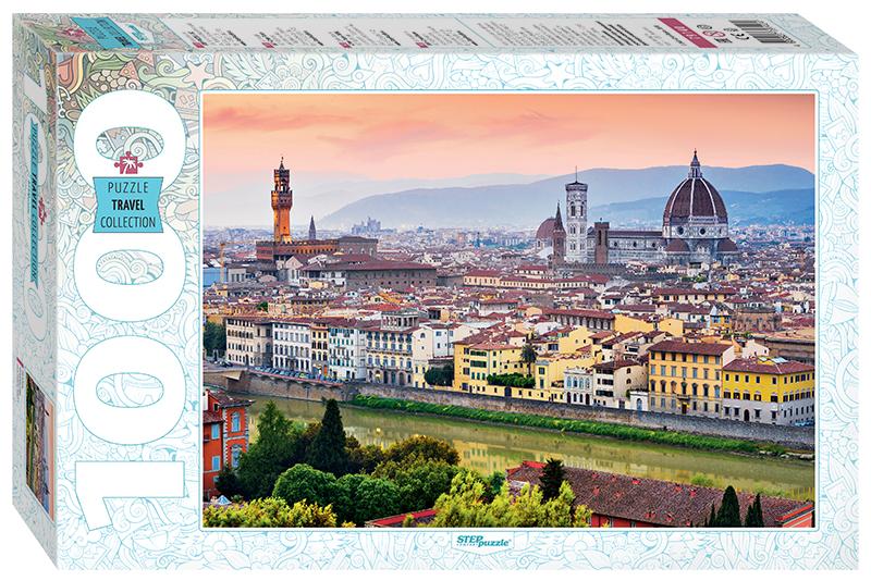 Пазл Step Puzzle 1000 деталей Италия. Флоренция