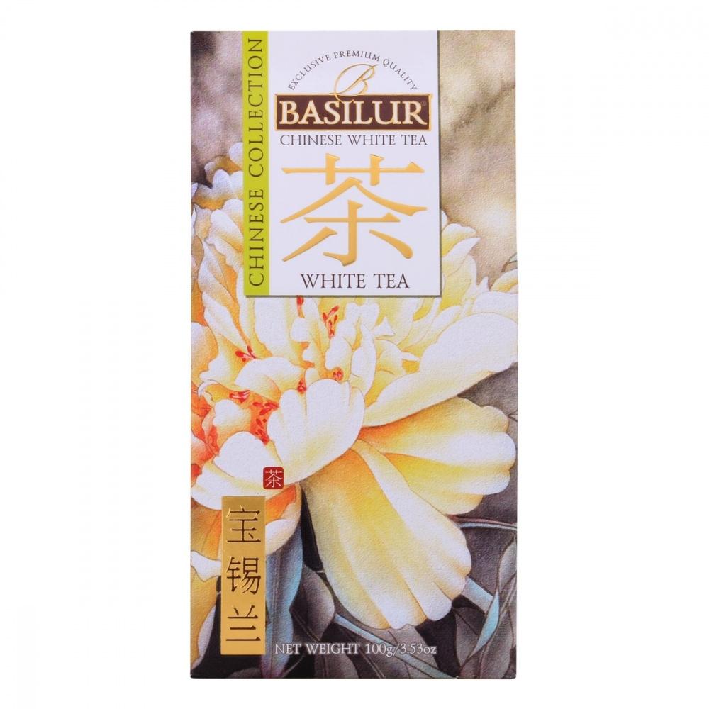 Чай Basilur Китайский чай - Белый чай белый листовой 100 г фото