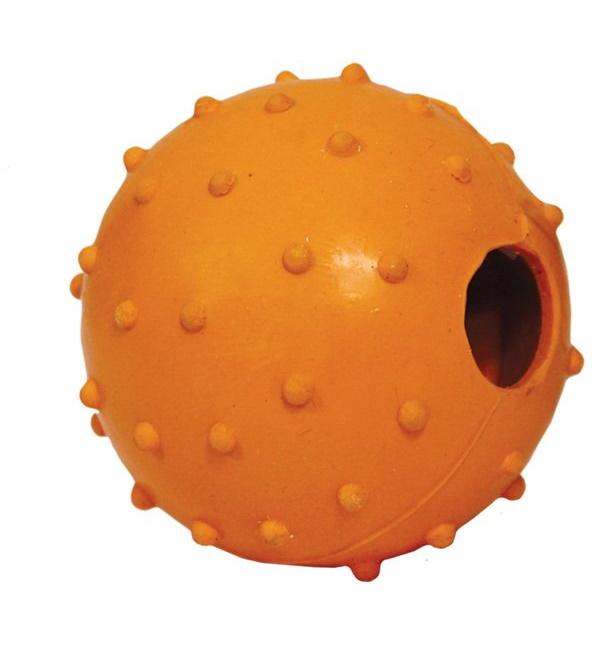 Апорт для собак Triol Мяч с колокольчиком