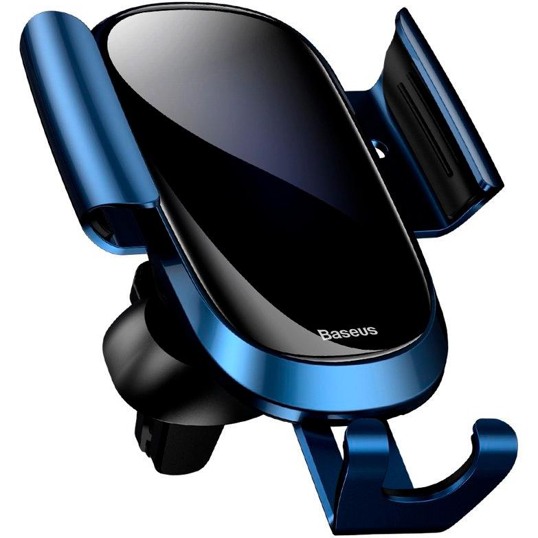 Автомобильный держатель в дефлектор Baseus Smart Car Mount Cell - Синий (SUGENT-ZN03)  - купить со скидкой