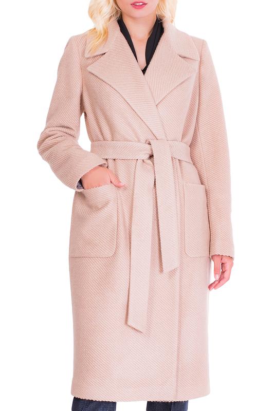 Пальто женское Argent VZU910203 бежевое 48
