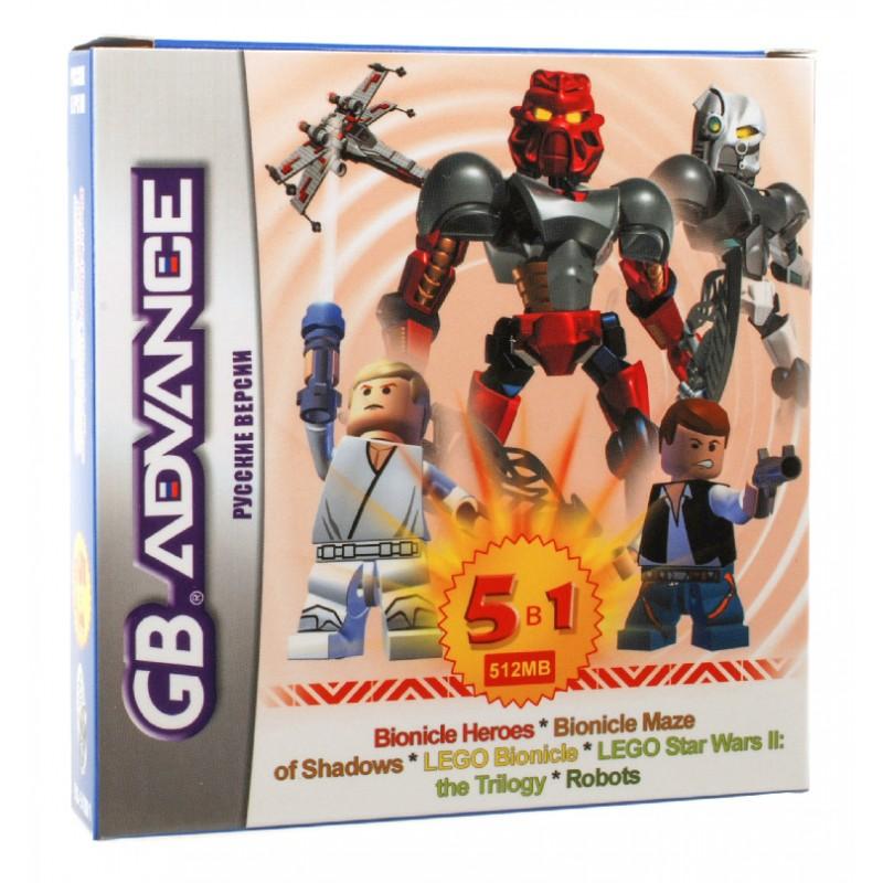 Игровой картридж GBA 5in1 BS51001