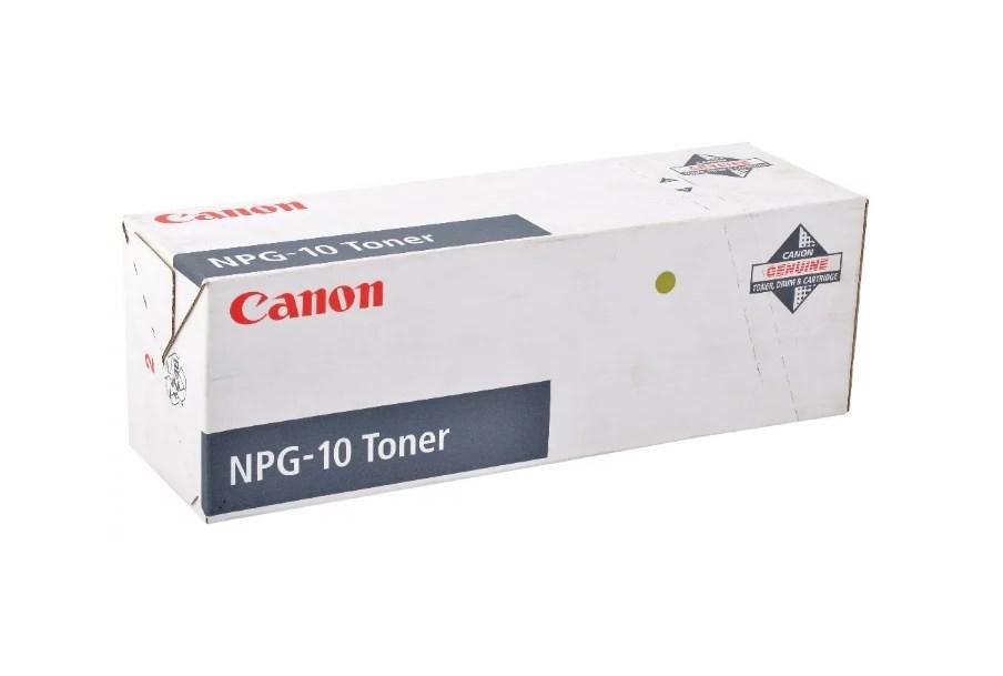 Тонер для лазерного принтера черный CANON NPG-10