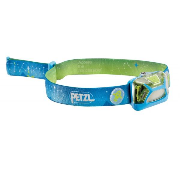 Туристический фонарь Petzl Tikkid E091BA00 синий, 3 режима фото