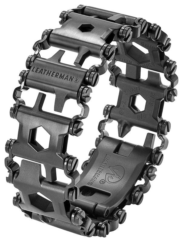Браслет-мультитул Leatherman Tread Metric 832324 217 мм черный, 29 функций