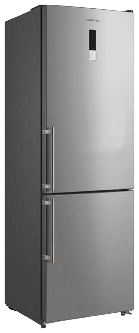 Холодильник Hiberg RFC 302DX NFX Silver