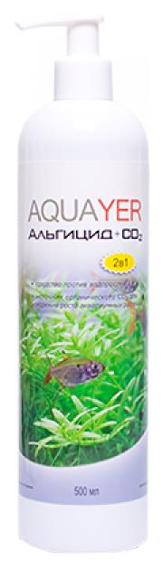 Средство для аквариумных растений Aquayer Альгицид+СО2 500мл