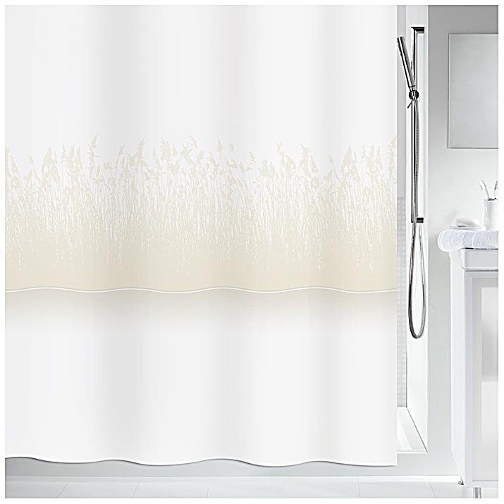 Штора для ванной Spirella Roseaux 240х180 см 1019270 Белый/Бежевый по цене 8 100