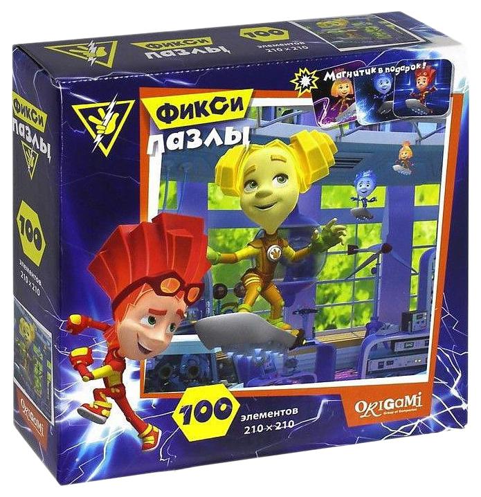Купить Пазлы Origami Фиксики Шпуля 100 элементов