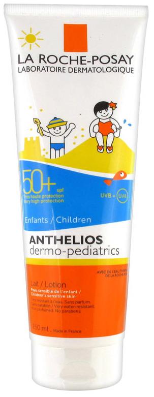 Купить Молочко для младенцев и детей La Roche-Posay Дермо-Кидс Антгелиос SPF 50+ 250 мл