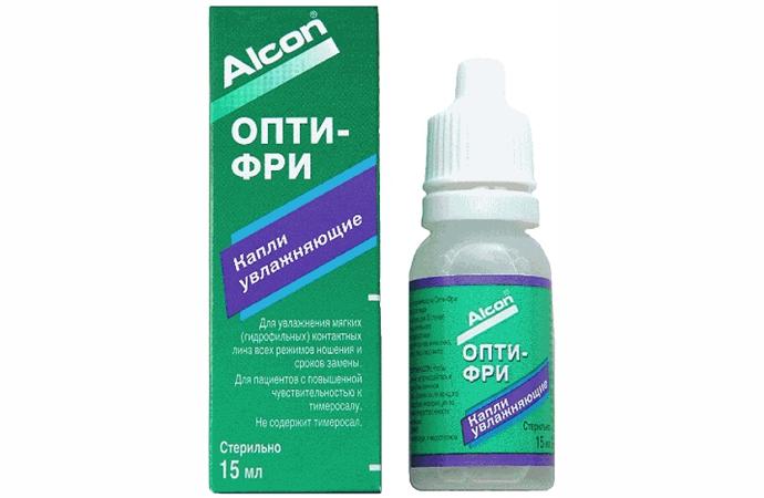 Капли для линз Alcon Opti-Free 15 мл фото