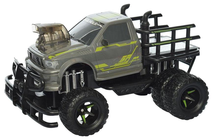 Радиоуправляемая машинка Junfa Toys YE81404 Зеленый, серый, черный