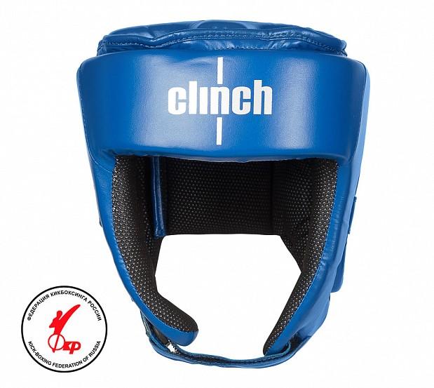 Шлем для единоборств Clinch Helmet Kick синий