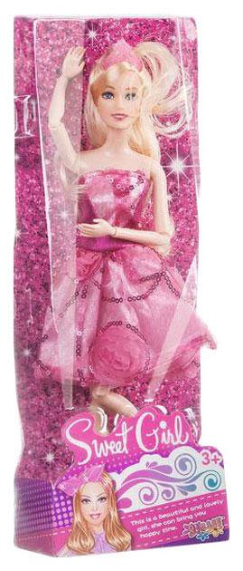 Кукла sweet girl в розовом платье Shantou Gepai PS15802B-1 в ассортименте