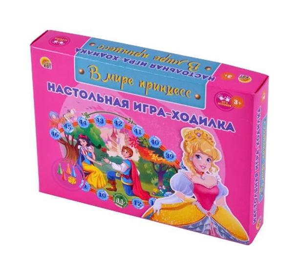 Купить Настольная игра Рыжий кот В мире принцесс ИН-6325, Семейные настольные игры
