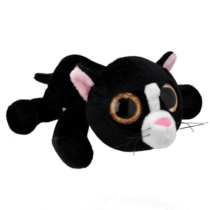 Мягкая игрушка Wild Planet Черный кот 25 см