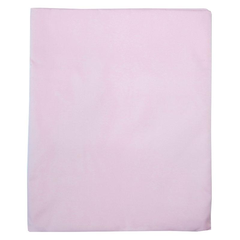 Наматрасник детский Папитто непромокаемый 125х65 Розовый 391