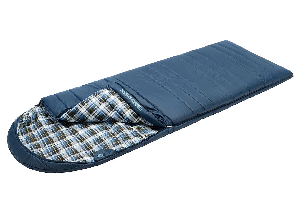 Спальный мешок Trek Planet Douglas Comfort синий, правый