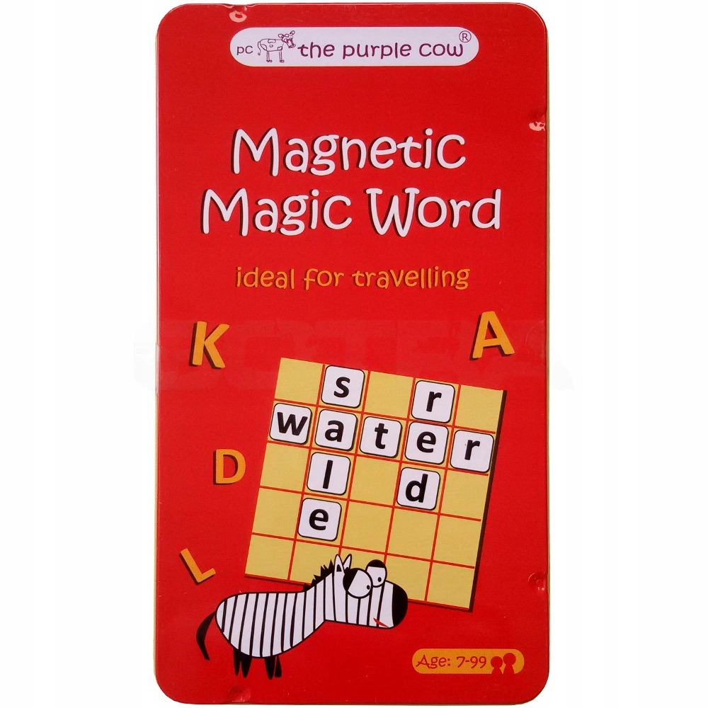 Купить Магнитная настольная игра The Purple Cow Волшебное слово, Семейные настольные игры