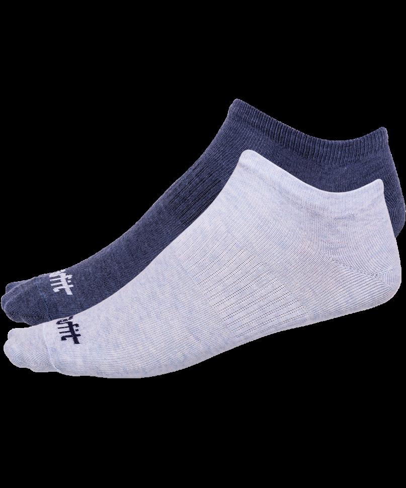 Носки StarFit SW-205, голубый меланж/синий меланж, 43-46 EU