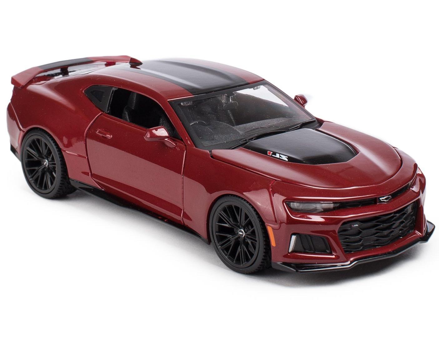 Купить Машинка Maisto 1:24 Chevrolet Camaro ZL1 2017 года, красная, Коллекционные модели