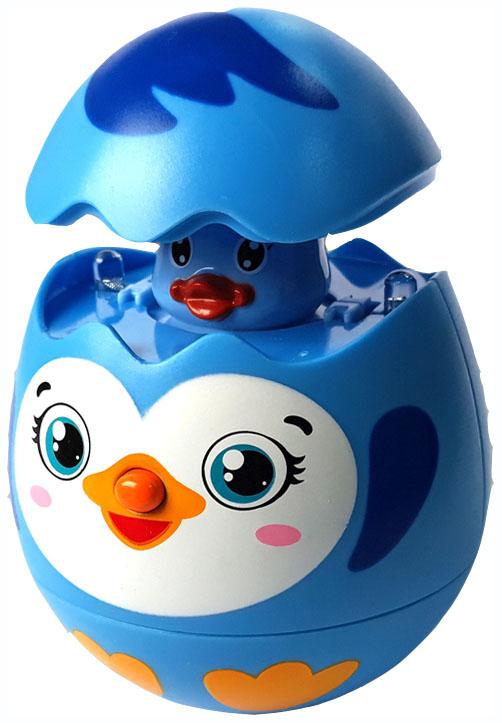 Купить Интерактивное животное Азбукварик Яйцо-сюрприз Пингвинчик 28214-5, Интерактивные мягкие игрушки
