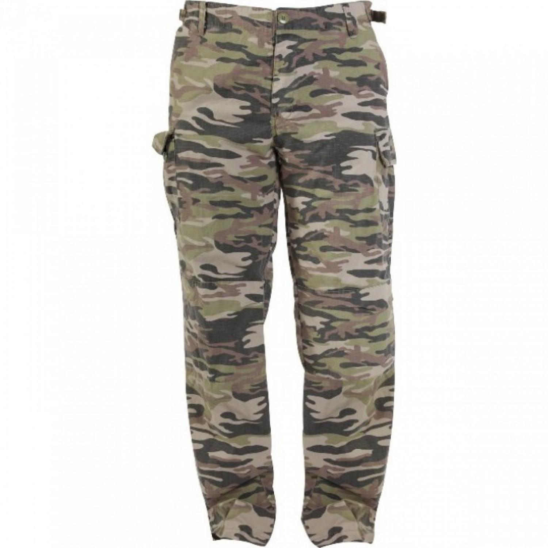 Спортивные брюки Norfin Nature Camo, khaki,