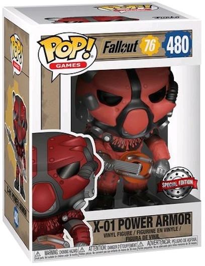 Фигурка Funko POP! Games: Fallout: X-01 Power Armor Red Exc
