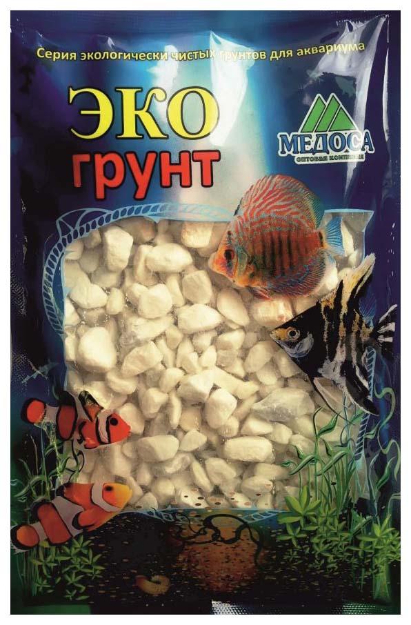 Грунт для аквариума ЭКОгрунт Мраморная крошка Белая